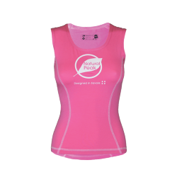Tank Top « PACCALY Made in France» Woman Pink  -  - 1