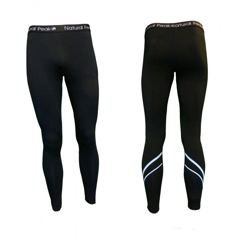 Legging Long « LE JALOUVRE » Homme Noir  - Le Legging Long homme «Le Jalouvre» de Natural Peak®Vous offre un confort exception