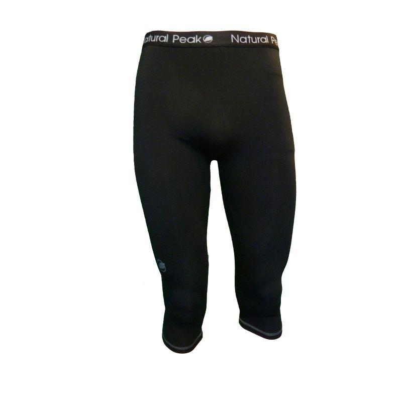 Legging ¾  « Le Sire » Mann Schwarz  - Männer Legging ¾ «Le Sire» von Natural Peak®   Bietet Ihnen außergewöhnlichen Komfort,
