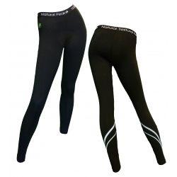 Lange Frauen Leggings « Le Jalouvre » Schwarz  - Lange Frauen Leggings «Le Jalouvre» von Natural Peak®   Bietet Ihnen außergew