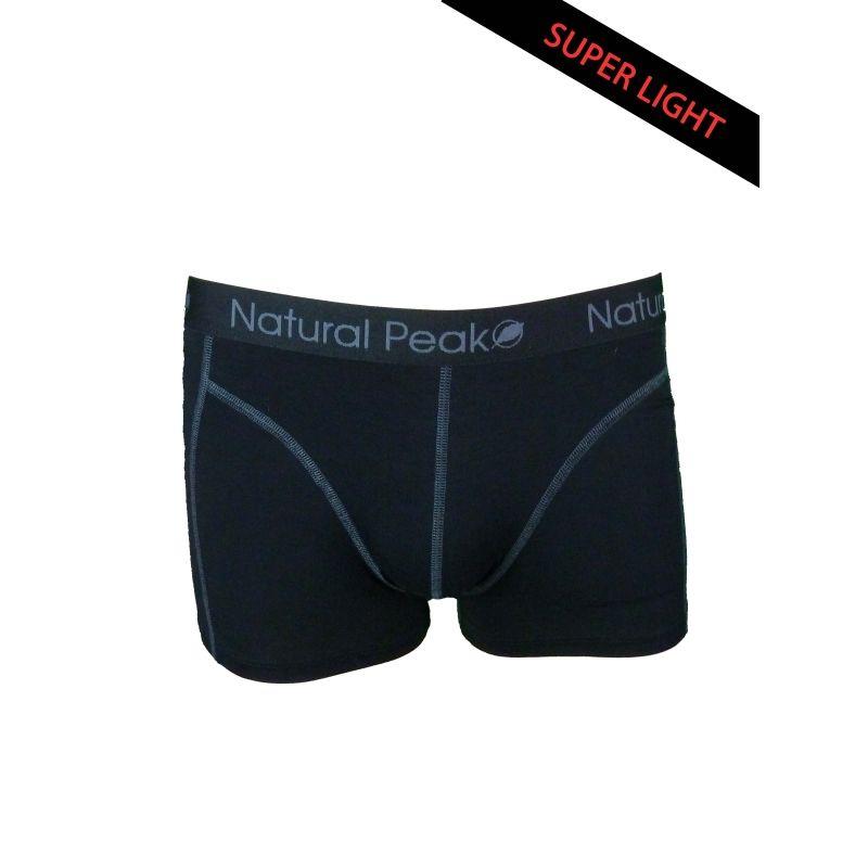 Boxer « Dru » Uomo Nero  - Il boxer homme « Dru » da Natural Peak® 96% di fibre di eucalipto!Il boxer ad alte prestazioni offron