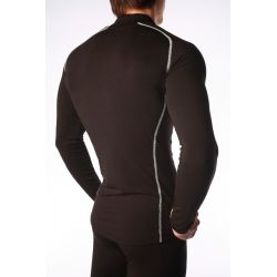 """Base Layer """"Pointe Blanche"""" Men Black/White  - Man's Base Layer """"Pointe Blanche""""   Offers you exceptional comfort, perfect ther"""