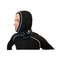 """« Roc de Bœufs » Adult neck tube Black  - The neck tube """"Roc des Boeufs"""" is an essential accessory for any outdoor activity and"""
