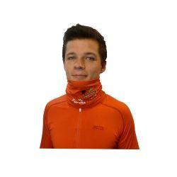 "Adult Neck Tube ""Roc des Boeufs"" Orange  - ""Roc des Bœufs"" Adult neck tube   Made in France !     For ethical reasons, we want"
