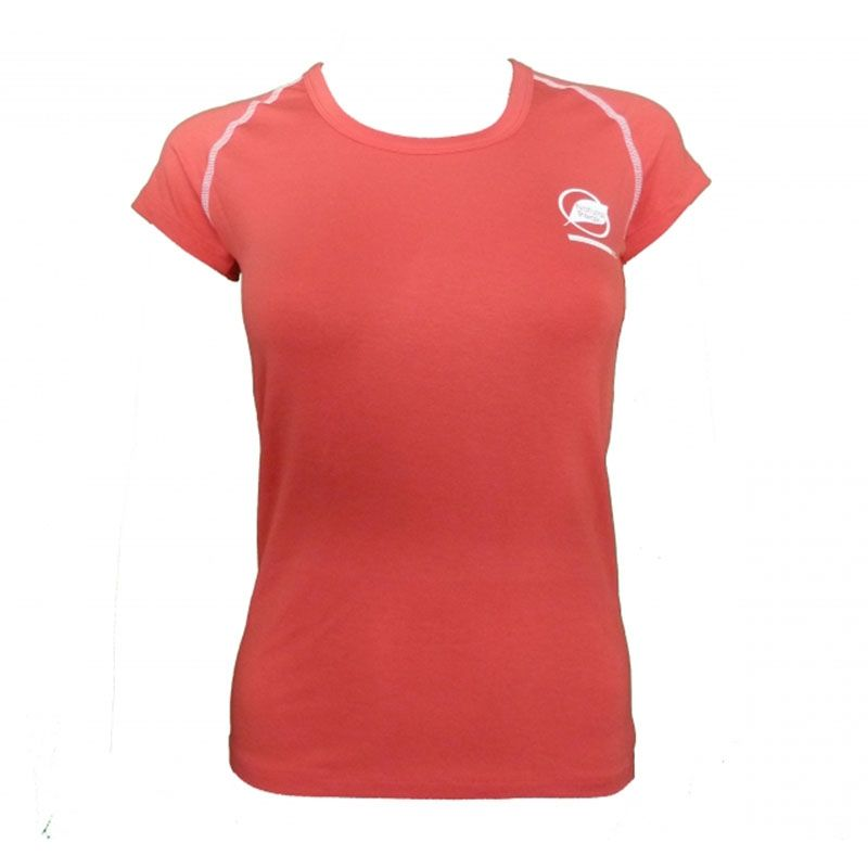 """Tee-shirt """"ECRIN"""" Woman Pink Orange  - The """"Ecrin"""" women's T-shirt by Natural Peak®   Offers exceptional comfort and perfect the"""
