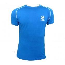 Maglietta « Ecrin » Uomo Blu  - Maglietta uomo « Ecrin » da Natural Peak® Offre un comfort eccezionale e un perfetto isolamento