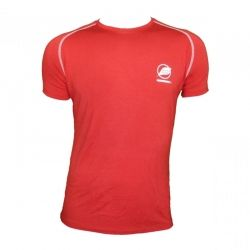 """Tee-shirt """"ECRIN"""" Men Red  - Natural Peak® """"Ecrin"""" men's T-shirt  Offers you exceptional comfort and perfect thermal insulation"""