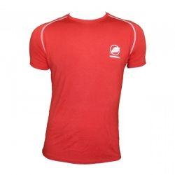 Maglietta « Ecrin » Uomo Rosso  - Maglietta uomo « Ecrin » da Natural Peak® Offre un comfort eccezionale e un perfetto isolament