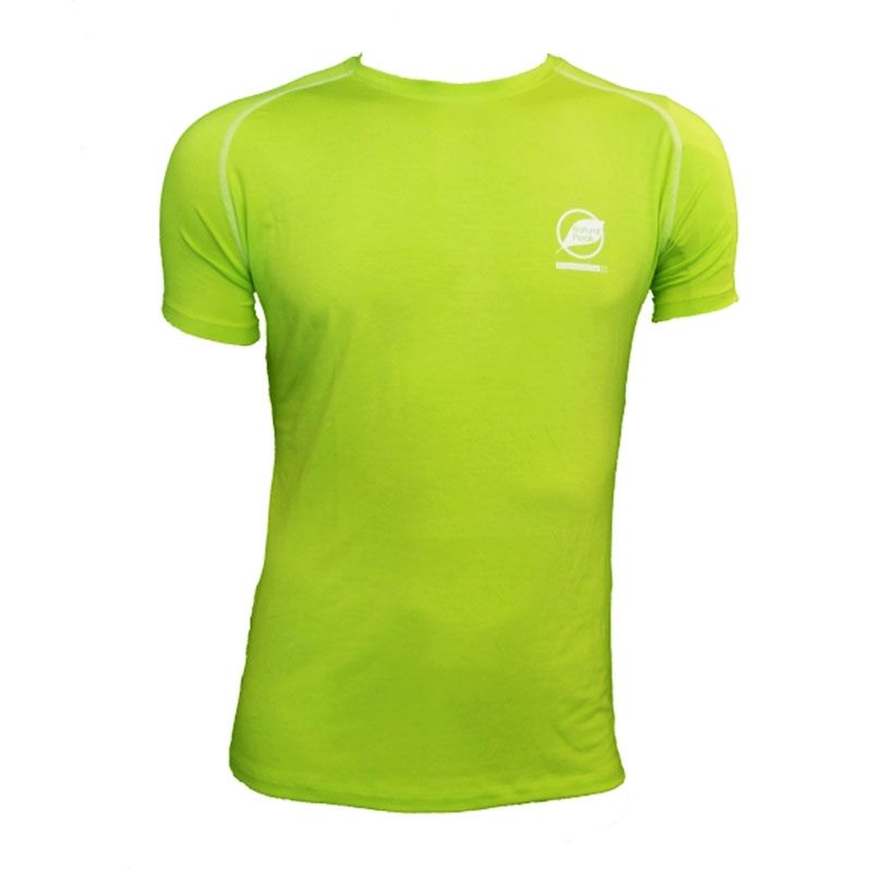 """Tee-shirt """"ECRIN"""" Men Green  - Natural Peak® """"Ecrin"""" men's T-shirt Offers you exceptional comfort and perfect thermal insulation"""
