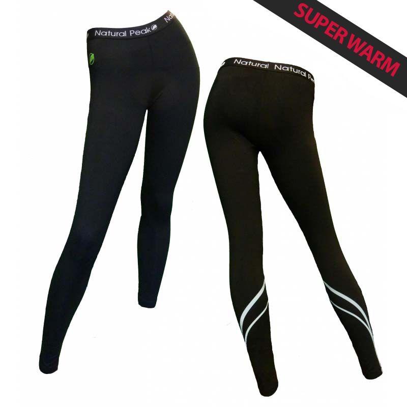 "Long Legging ""Croz"" Woman Black  - Natural Peak® ""Croz"" Women's Long Legging   Offers you exceptional comfort, perfect thermal i"