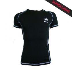 """Maglietta """"Charvin"""" Uomo Nero  - La maglietta uomo « Charvin » da Natural Peak® 96% di fibre di eucalipto!La maglietta più legge"""