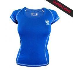 "Tee-shirt ""CHARVIN"" Woman Blue  - The ""Charvin"" women's T-shirt by Natural Peak®   96% Eucalyptus fibers!   The lightest t-shirt"