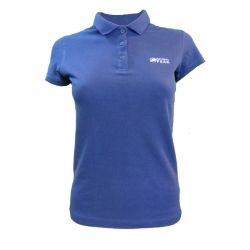"""Polo """"TRIOLET"""" Woman Navy Blue  - Women's short-sleeved """"TRIOLET"""" polo shirt by Natural Peak®    The Life Style range from Natu"""