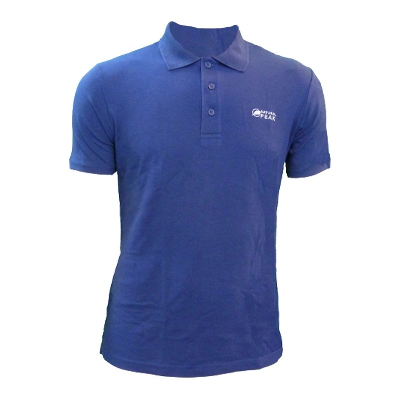 "Polo ""Triolet"" Men Blue  - Men's short-sleeved ""TRIOLET"" polo shirt by Natural Peak®     The Life Style range from Natural Peak"