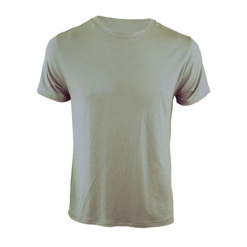"Tee-shirt ""Bella Cha"" Unmarked Grey  - « Bella Cha» man short sleeve tee-shirt by Natural Peak®   The life style Natural Peak®"