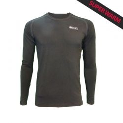 """Base Layer """"Walker"""" Man Black  - «Walker» Base Layer, man's low collar by Natural Peak® Offers you exceptional comfort, perfec"""
