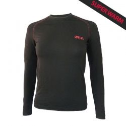 """Base Layer """"WALKER"""" Woman Black  - «Walker» Base Layer, woman's low collar by Natural Peak®   Offers you exceptional comfort,"""