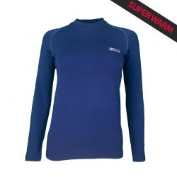 """Base Layer """"WALKER"""" Woman Blue Navy  - «Walker» Base Layer, woman's low collar by Natural Peak®   Offers you exceptional comfo"""