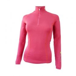 "Base Layer ""AIGUILLE VERTE"" Woman Fushia"
