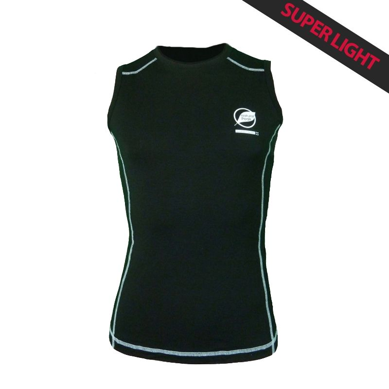 """Tank Top """"Paccaly"""" Men Black  - Natural Peak® """"Paccaly"""" men's tank top 96% Eucalyptus Fiber! The lightest t-shirt in the range,"""
