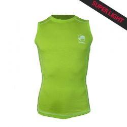 Canotta « Paccaly » Uomo Verde  - La canotta uomo « Paccaly » da Natural Peak® 96% Fibra di Eucalipto !La maglietta più leggera