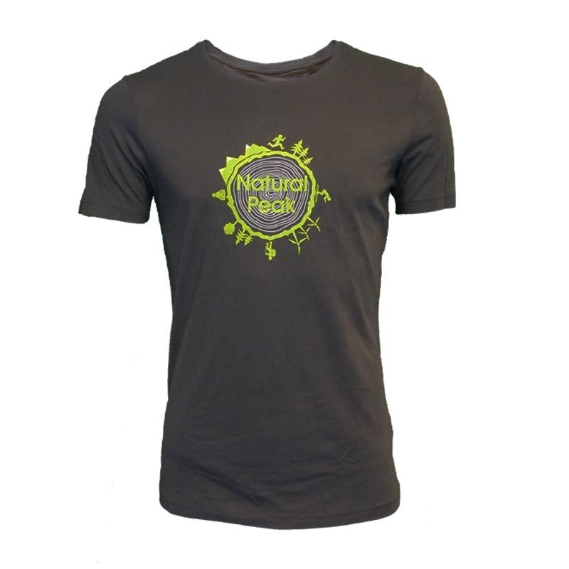 "copy of Tee-shirt ""Bella Cha Great Adventure"" Men Blue  - «Pointe de Bella Cha» man short sleeve tee-shirt pattern ""Great Adve"