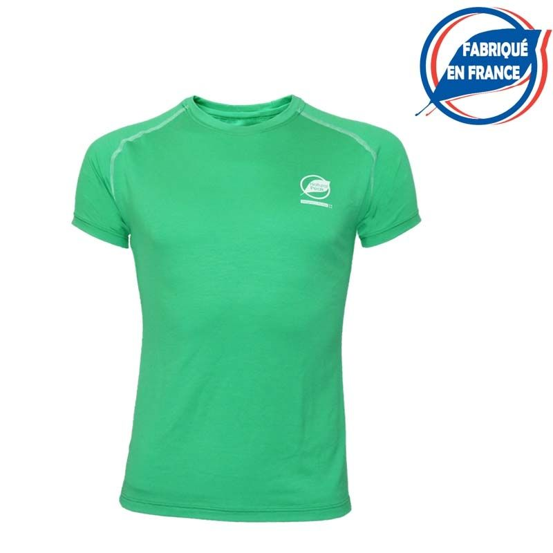 """copy of Tee-shirt """"ECRIN"""" Men Green  - Natural Peak® """"Ecrin"""" men's T-shirt   Offers you exceptional comfort and perfect thermal"""