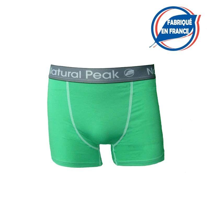 """copy of Boxer """"DRU"""" Men Blue  - Natural Peak® """"Dru"""" men's boxer brief  96% Eucalyptus fibers!    The high-performance boxer bri"""