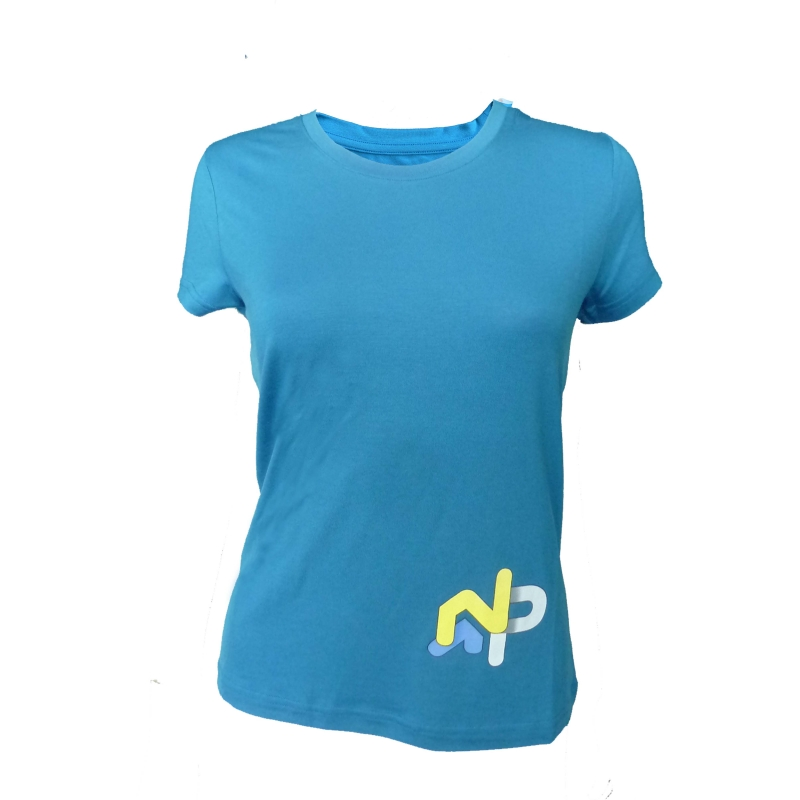 "copy of Tee-shirt ""La Bourgeoise Great Adventure"" Woman White  - «Bourgeoise» woman short sleeve tee-shirt pattern «Great Adv"